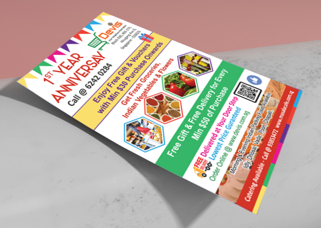 Devi Flyer Graphic Designer in Chennai