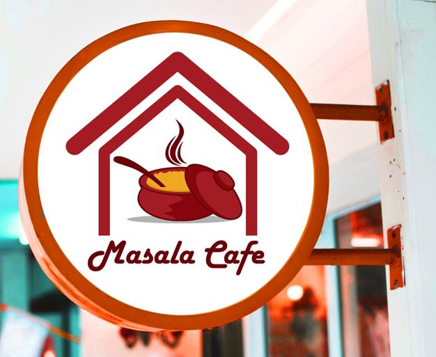 masala cafe logo