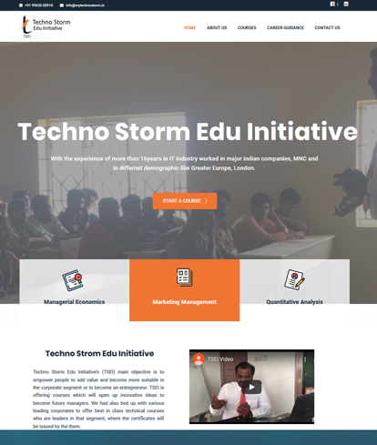 techno strom edu initiative